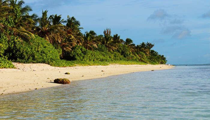 view of hulhumale beach