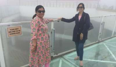 visited the SKYWALK in Sikkim