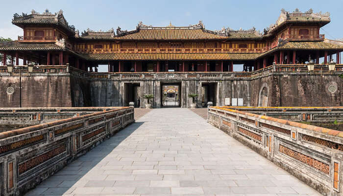 The Imperial Citadel In Hanoi