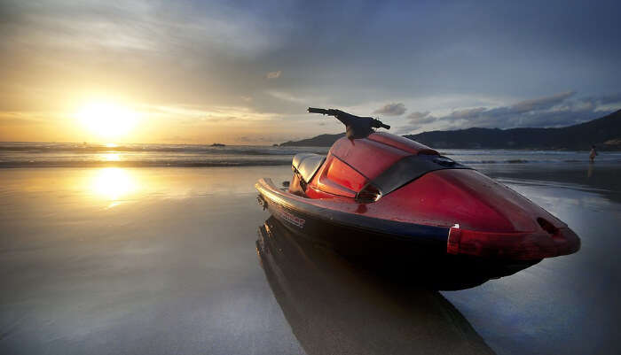 Jet-Ski in Crystal Clear Water
