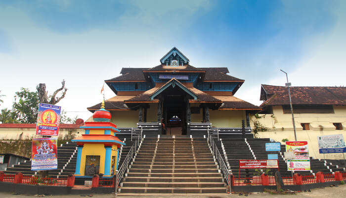 Kalpathy Heritage Temple Complex View