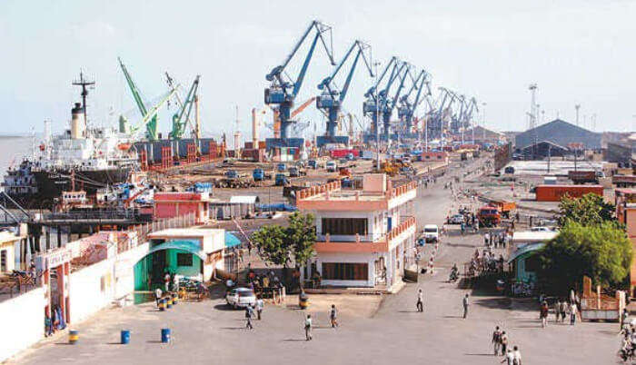 very first and possibly the busiest of all the ports in India