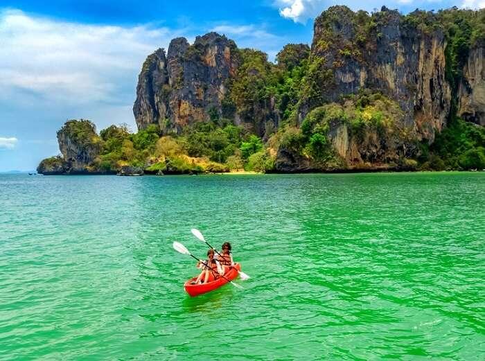 Kayaking in Andaman