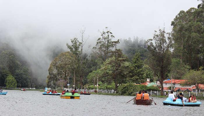 Lake in Kodai