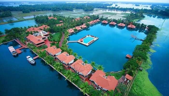 Lake Palace Backwater