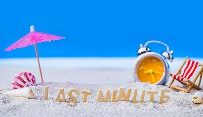 Last Minute Vacation Plans