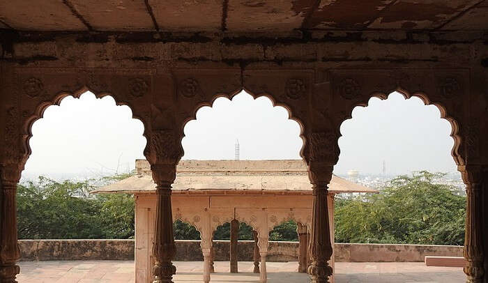 rchitectural beauty of the fort