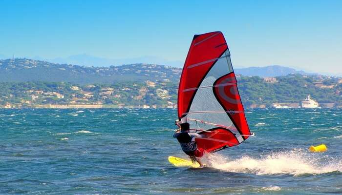 Kayaking and WindSurfing
