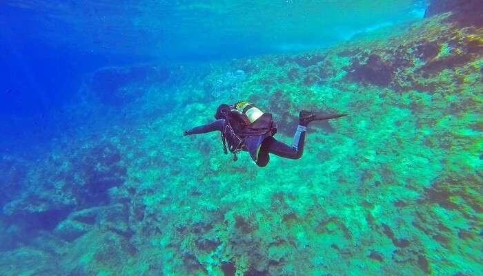 perfect destination for deep diving