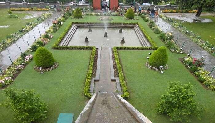 Nishat Bagh In Srinagar