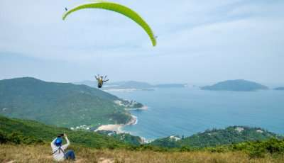 Paragliding In Hong Kong cover
