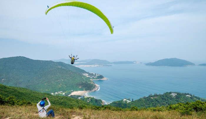 Paragliding In Hong Kong cover
