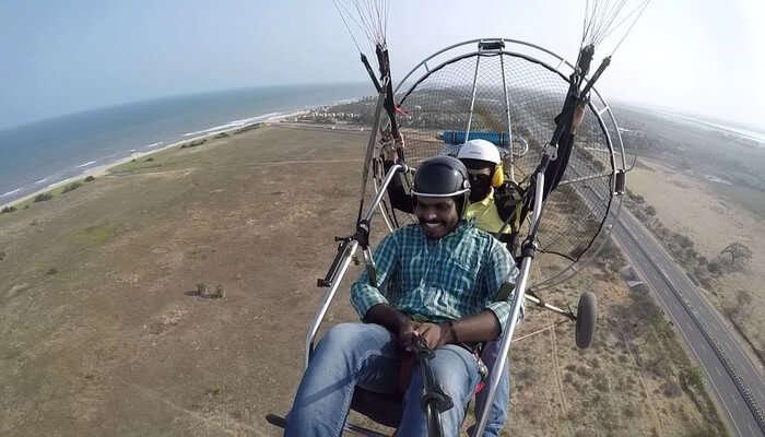 Paramotoring in Chennai