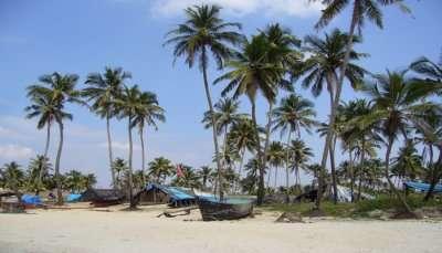 beach view in goa