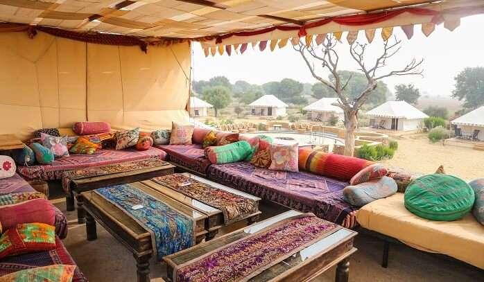 camp resort in Sam Jaisalme