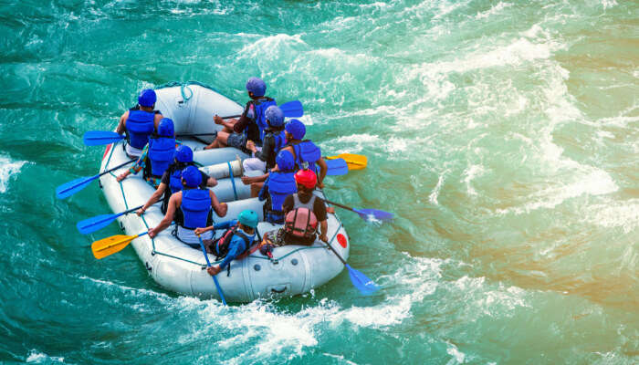 River Rafting In Kolad cover
