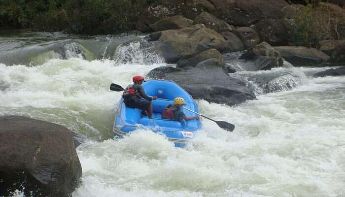 Adventure water activity