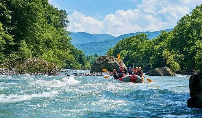 River rafting in shimla