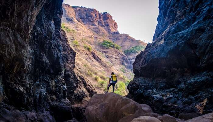 trekking view of sandhan valley