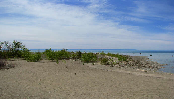 Sandy Beach in Ontario