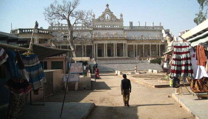Shahji Temple in Vrindavan