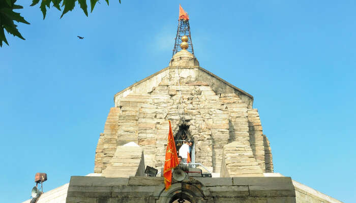 Shankaracharya Temple View