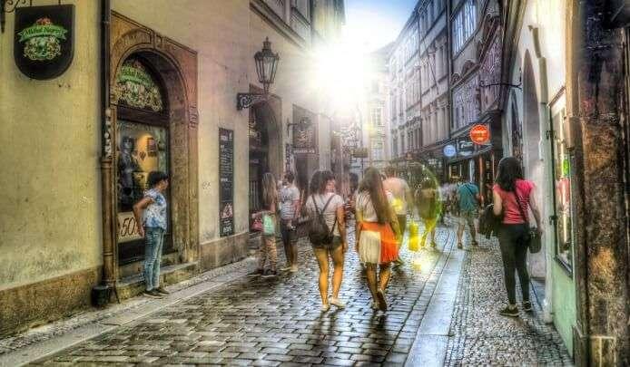 shopping in europe