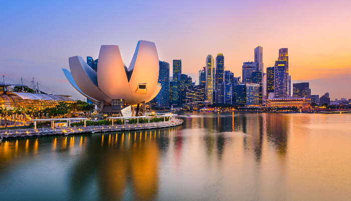 Beautiful View of Singapore