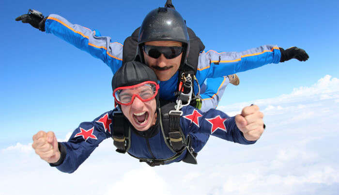 Skydiving In Australia cover
