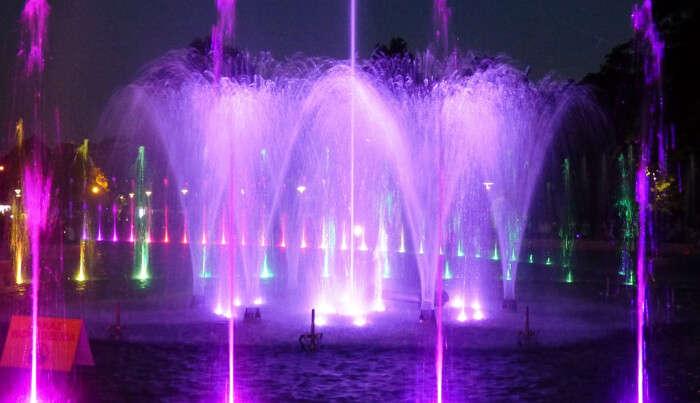 Lightening Fountain