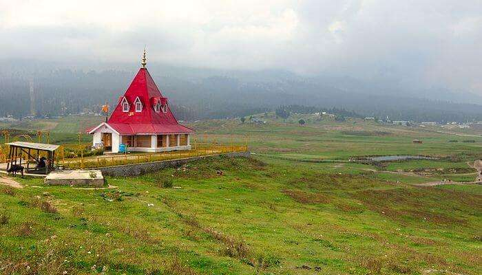 Ancient Temples Of Gulmarg