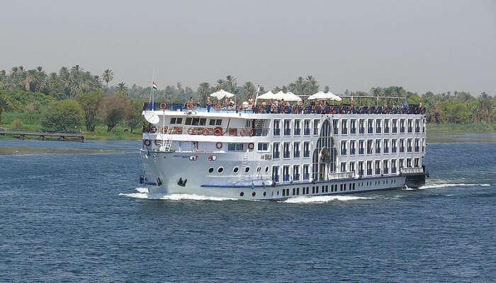 The Nile river cruise egypt