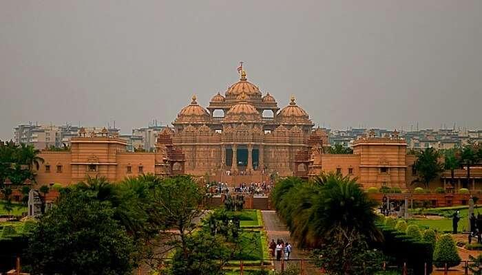 View Of Akshardham Temple