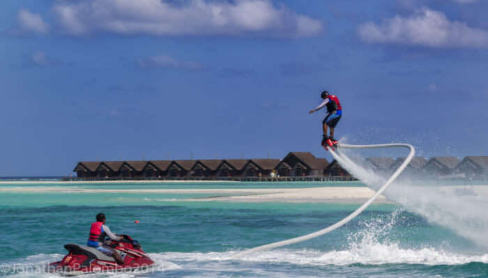 water sports view