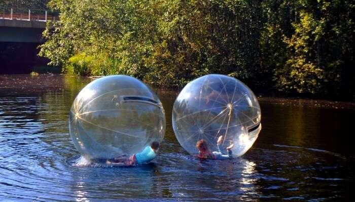 Adventure in Water