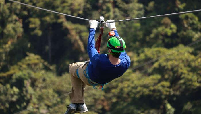 Ziplining Sport