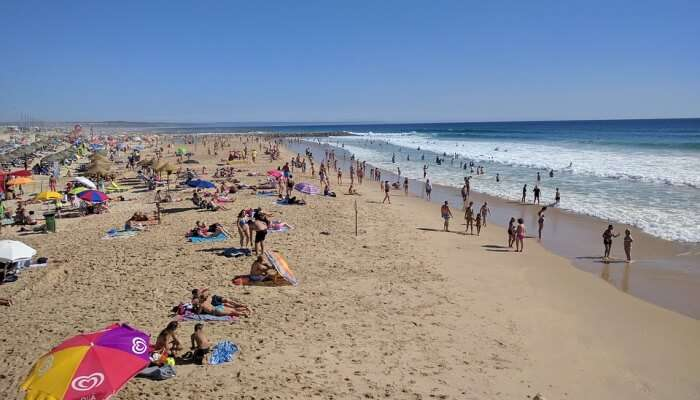 people enjoying on a beach