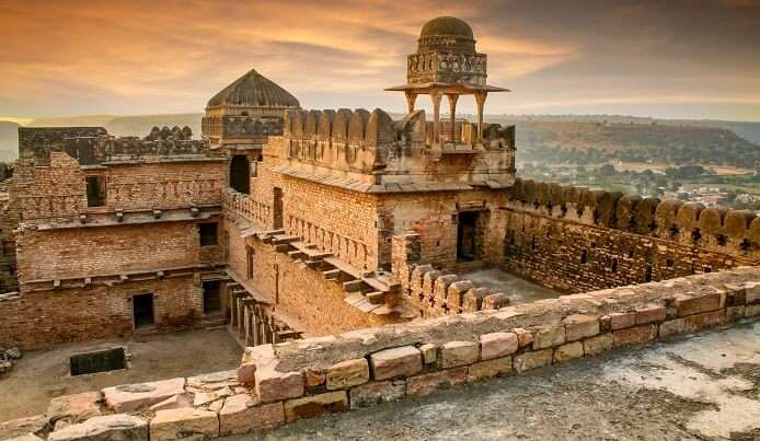 visiting heritage sites in India