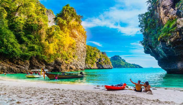 Spectacular Karmatang Beach