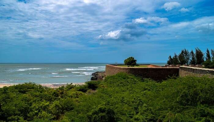 fort facing the sea