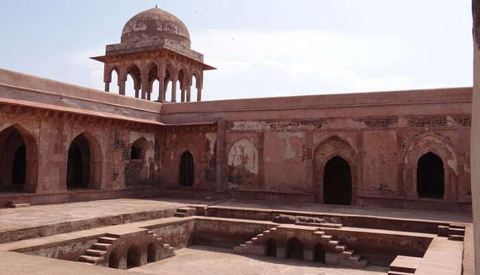 Baz Bahadur's Palace in Mandu