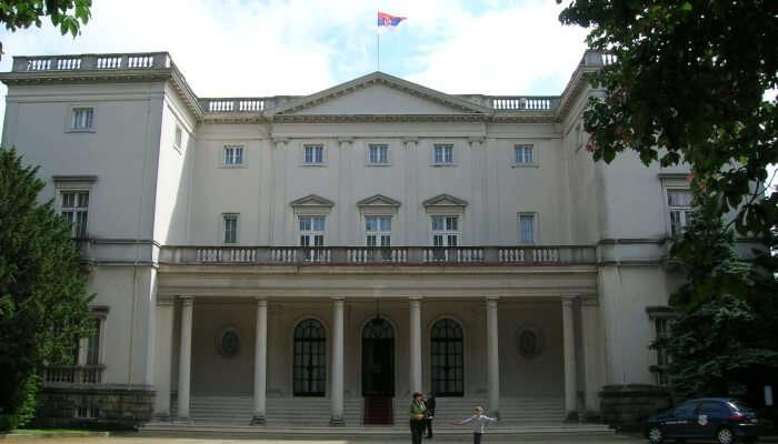 Palace building
