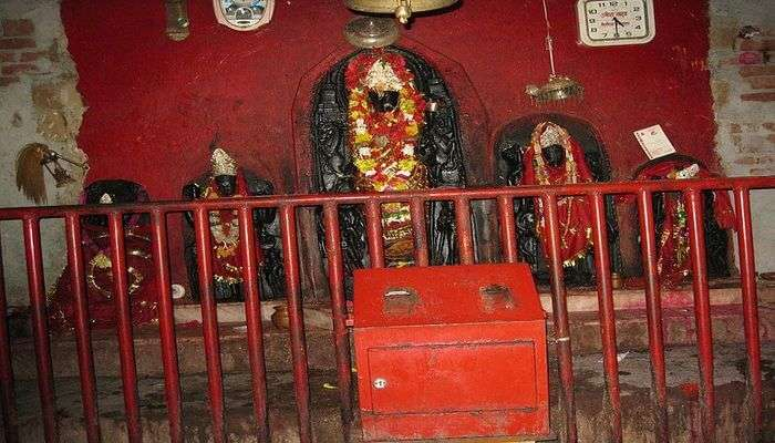 one of the forms of the Goddess Kali