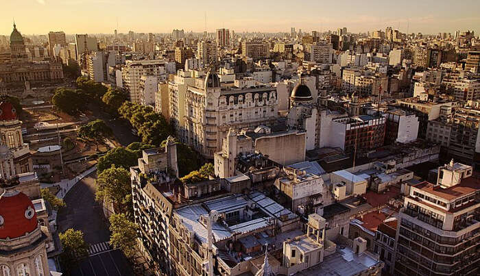 Buenos Aires City in Argentina