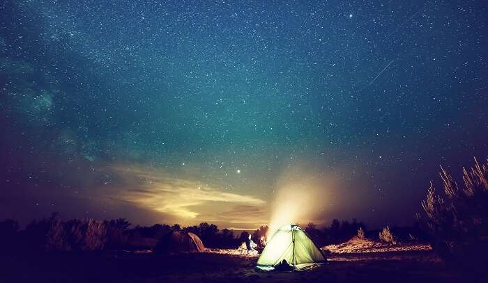 CAMPING IN UDAIPUR