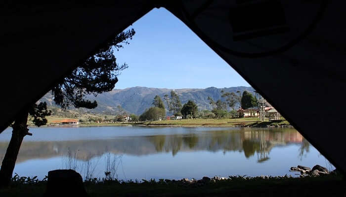 Beautiful Camping Around Umiam Lake