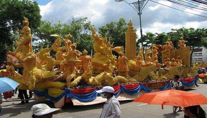 most iconic festival celebrated in Bangkok
