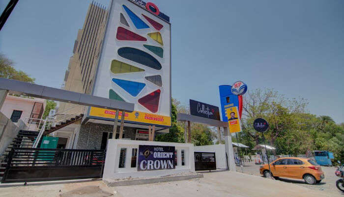 Colourful Building of Hotel in Nagpur