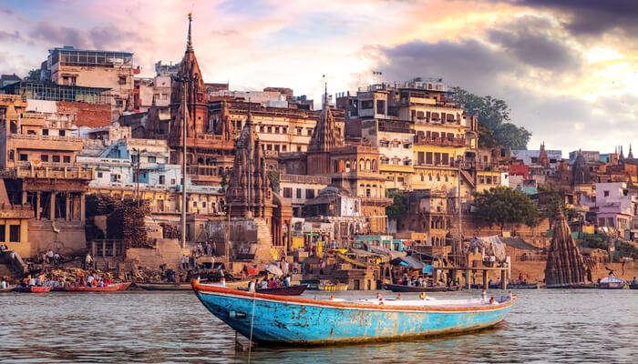 Spectacular Nightlife In Varanasi