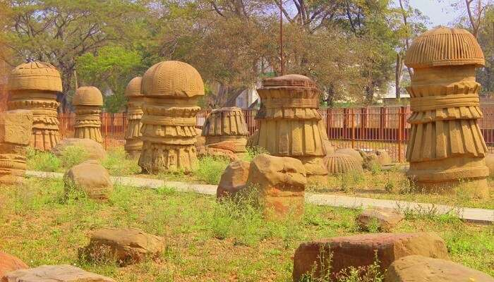Kachari ruins in Dimapur